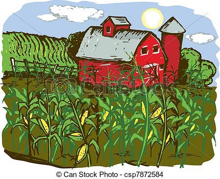 Farming Crops Clipart.