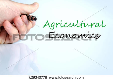 Pictures of Agricultural economics Text Concept k29340778.