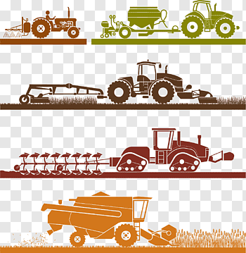 Agricultural machinery cutout PNG & clipart images.