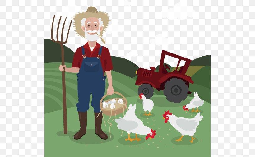 Chicken Farmer Clip Art, PNG, 534x505px, Farm, Agriculture.