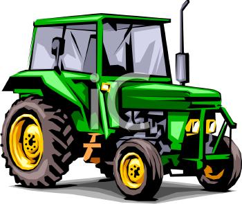 Farming Equpment, Tractor Clip Art.