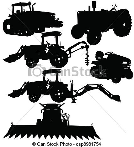 Agricultural equipment clipart #7