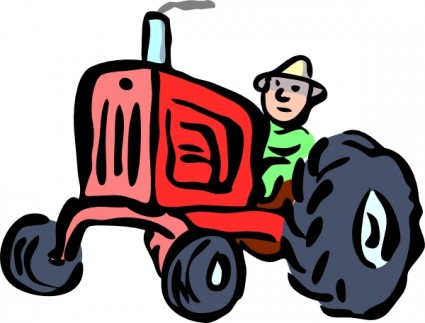 Agricultural equipment clipart #8