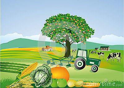 Indian Agriculture Clipart.