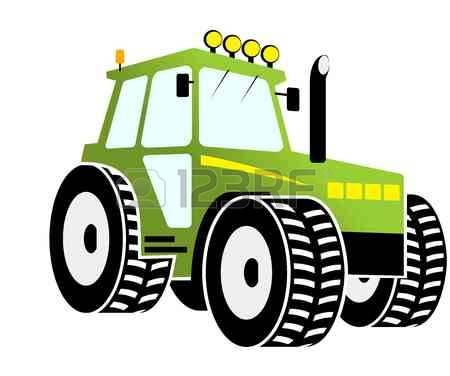Farm machinery clipart.