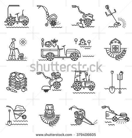 Farming Equipment Stock Photos, Royalty.