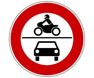 Verkehrszeichen Land.