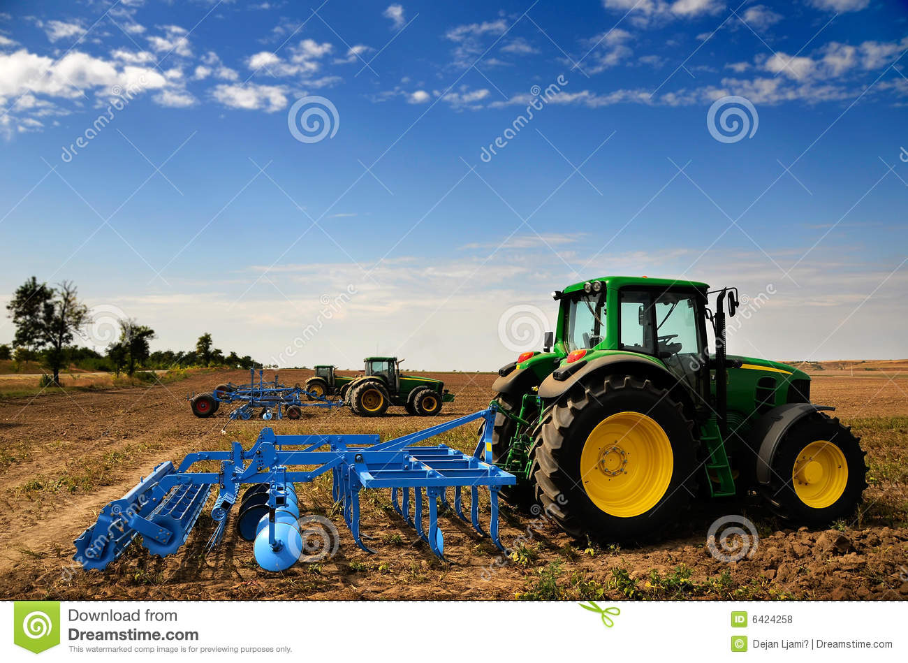 Modern Agriculture Clipart.