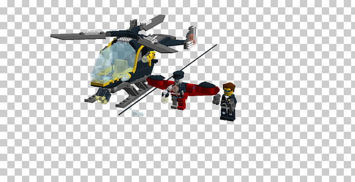 Lego Alpha Team Lego minifigure Toy Helicopter rotor.