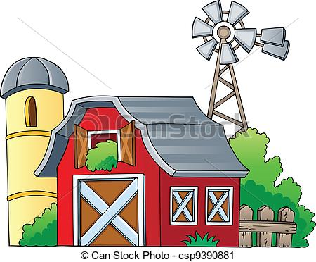 Vector Clip Art of Farm theme image 1.