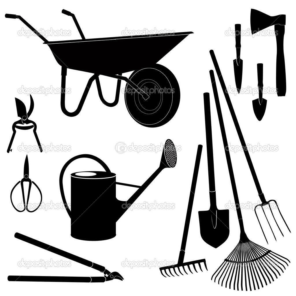 Agricultural tools clipart - Clipground