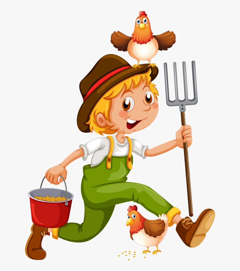 Gardener Clipart Farm Worker.