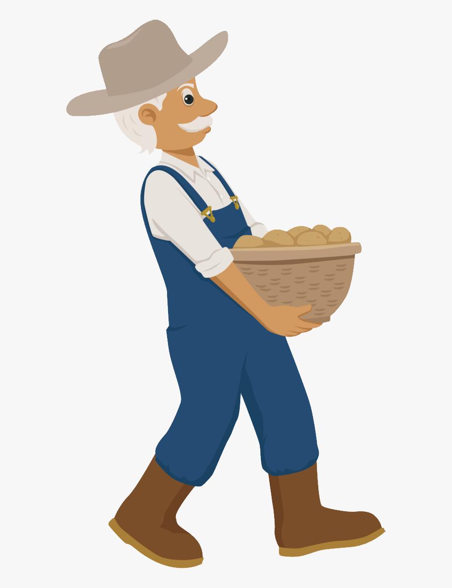 Farming Clipart Farm Worker.