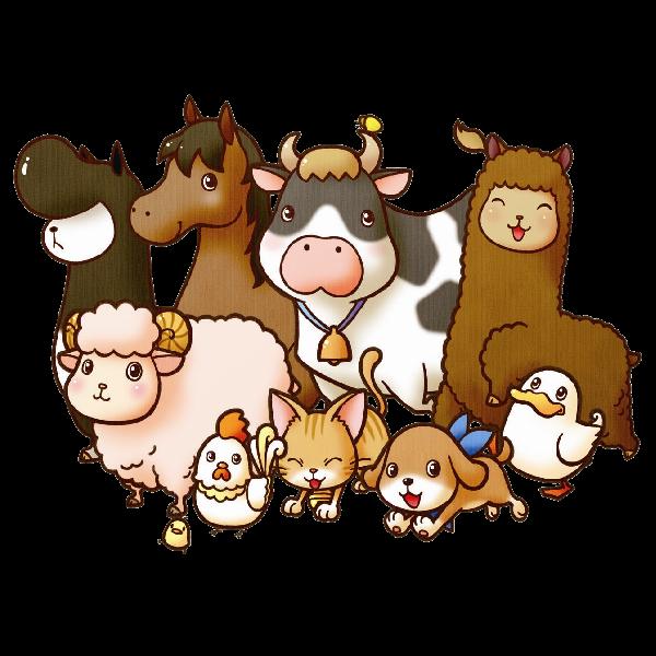 Farmer clipart livestock farming, Farmer livestock farming.