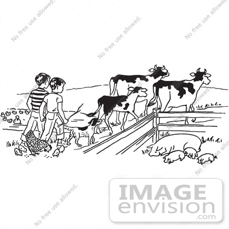 Agriculture clipart black and white 1 » Clipart Station.