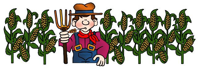 Corn Farm Clipart.