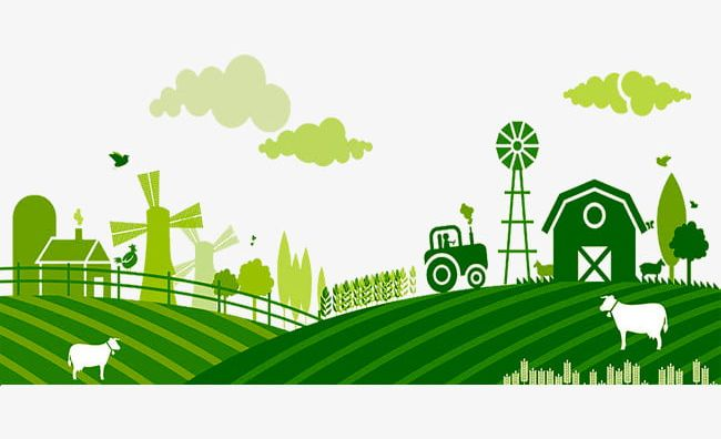 Green Farm PNG, Clipart, A Busy Farm, Busy, Farm, Farm.