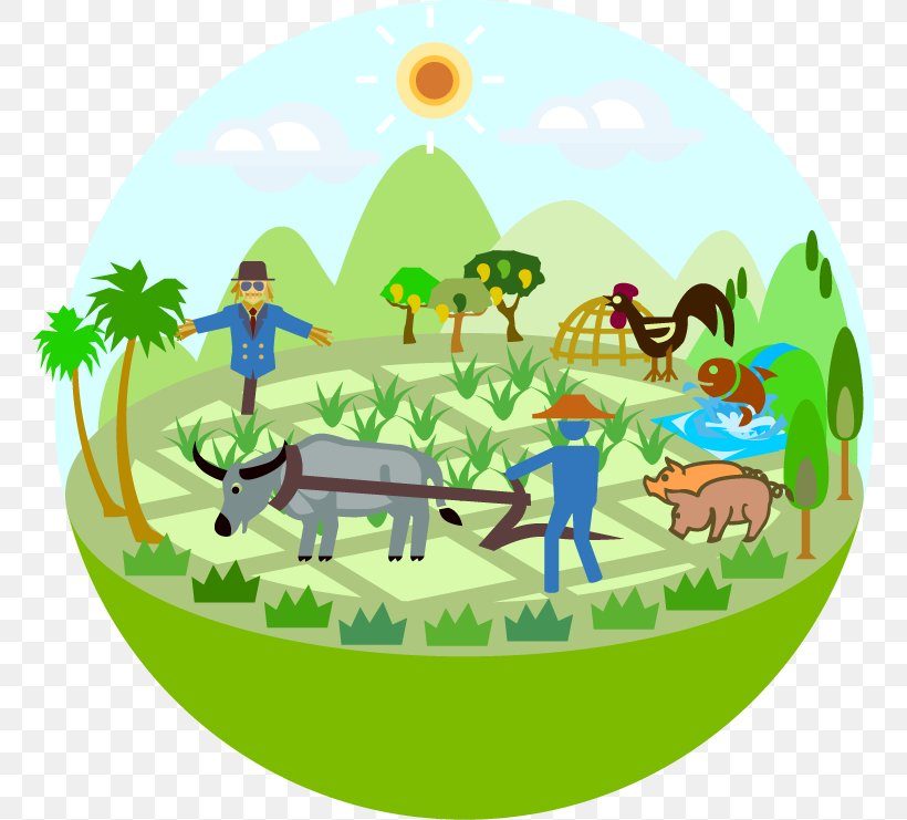 Conservation Agriculture Farmer Cartoon Clip Art, PNG.