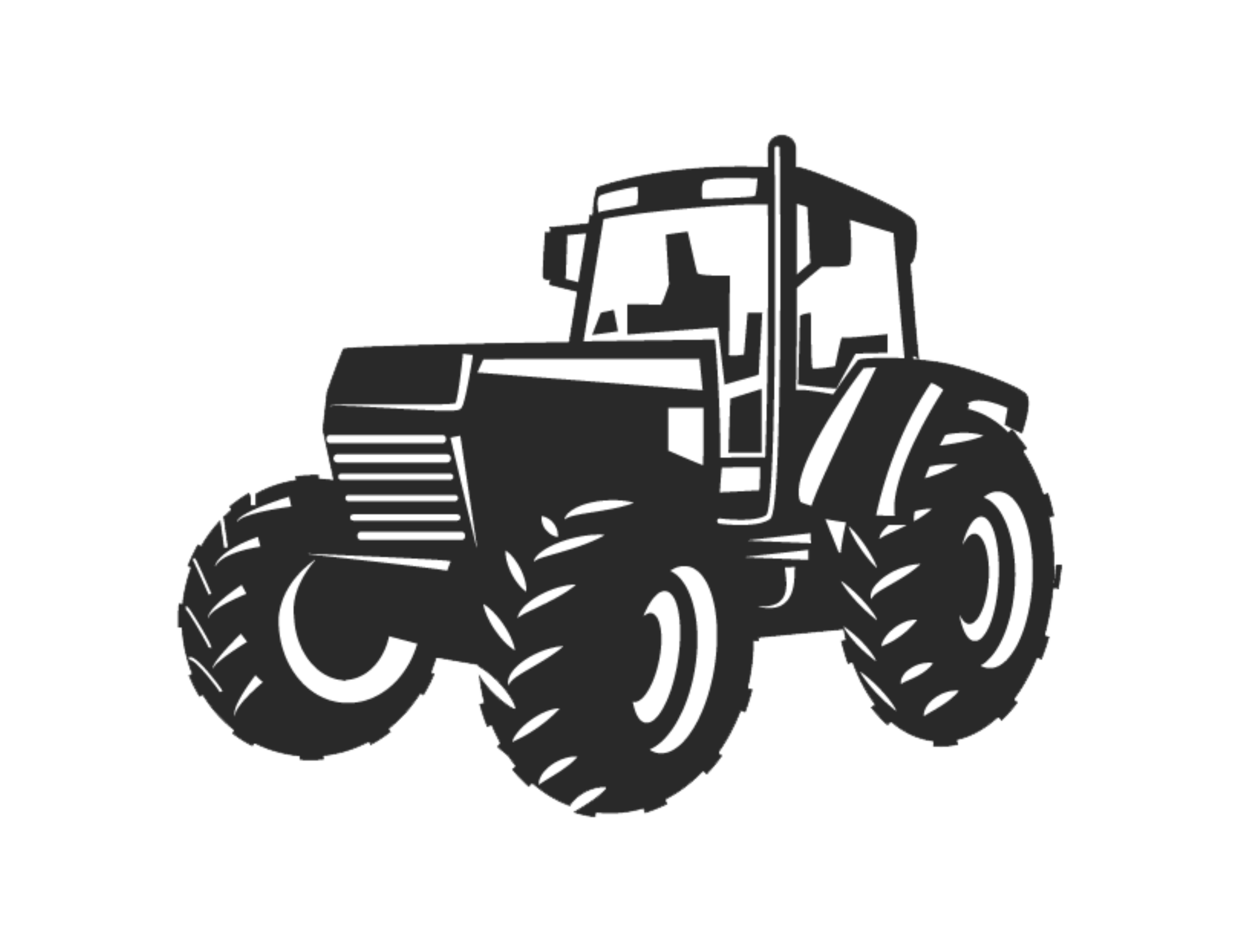 Vector graphics Tractor Clip art Illustration Agriculture.