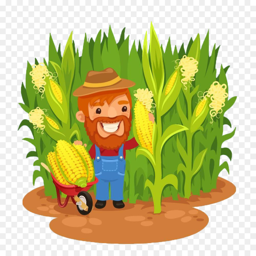 Agriculture clipart corn field, Agriculture corn field.