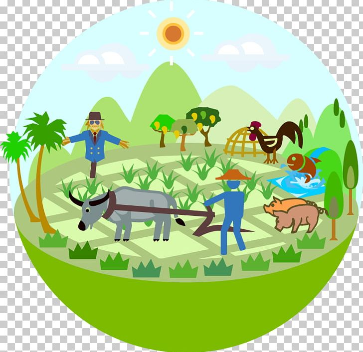 Conservation Agriculture Farmer Cartoon PNG, Clipart.