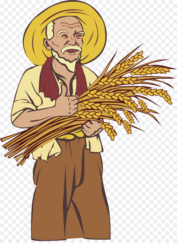 farmer clipart Agriculture Clip art clipart.