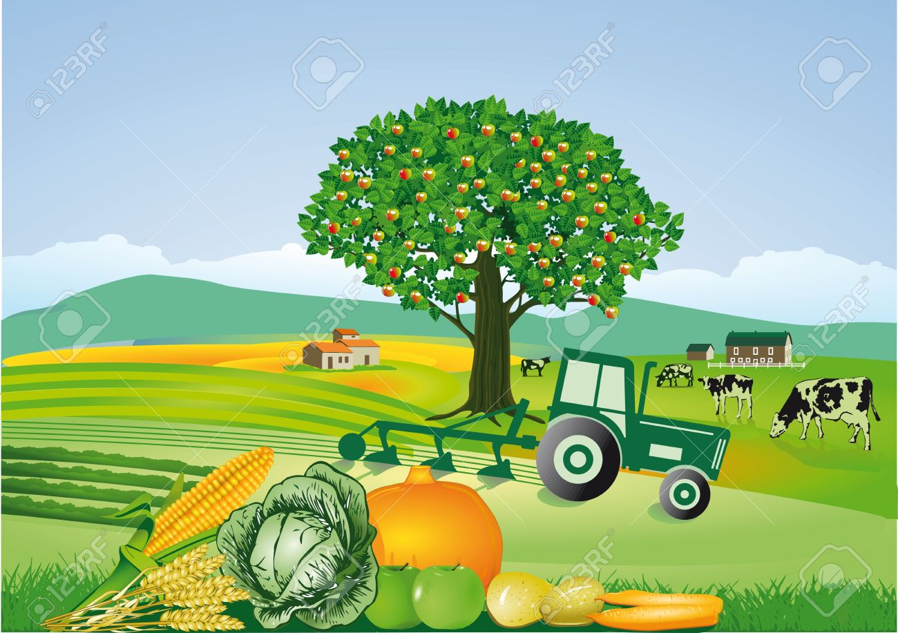 Agriculture field clipart » Clipart Station.