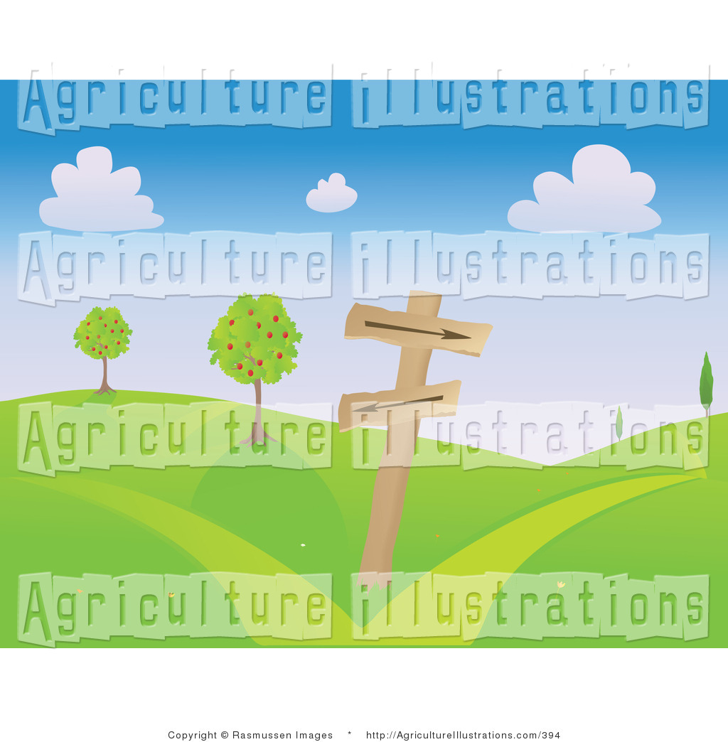 Royalty Free Path Stock Agriculture Designs.
