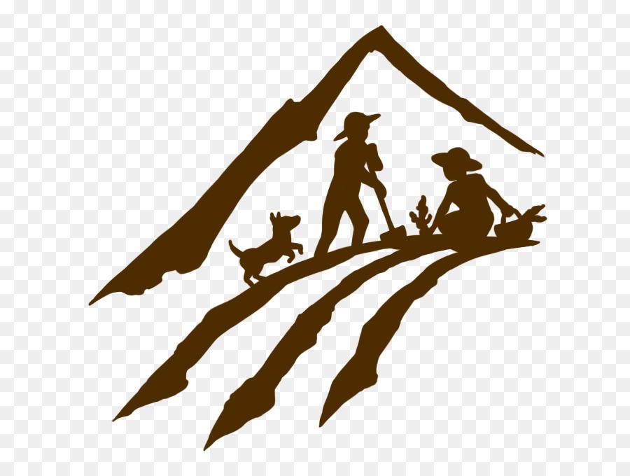Farmer Agriculture Plough Illustration.