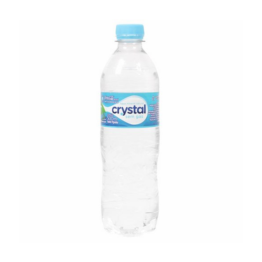 Agua Mineral Crystal S/gas 510ml.