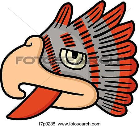 Clipart of 15 Aguila 17p0285.