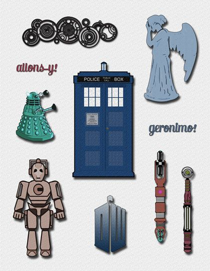 Doctor Who Clipart A Doctor Who Clip Art by.