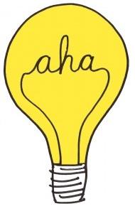 Light Bulb Moment Clipart.