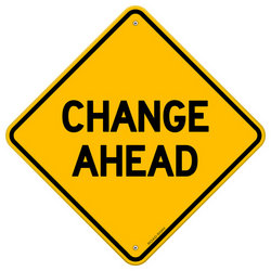 Change ahead clipart.