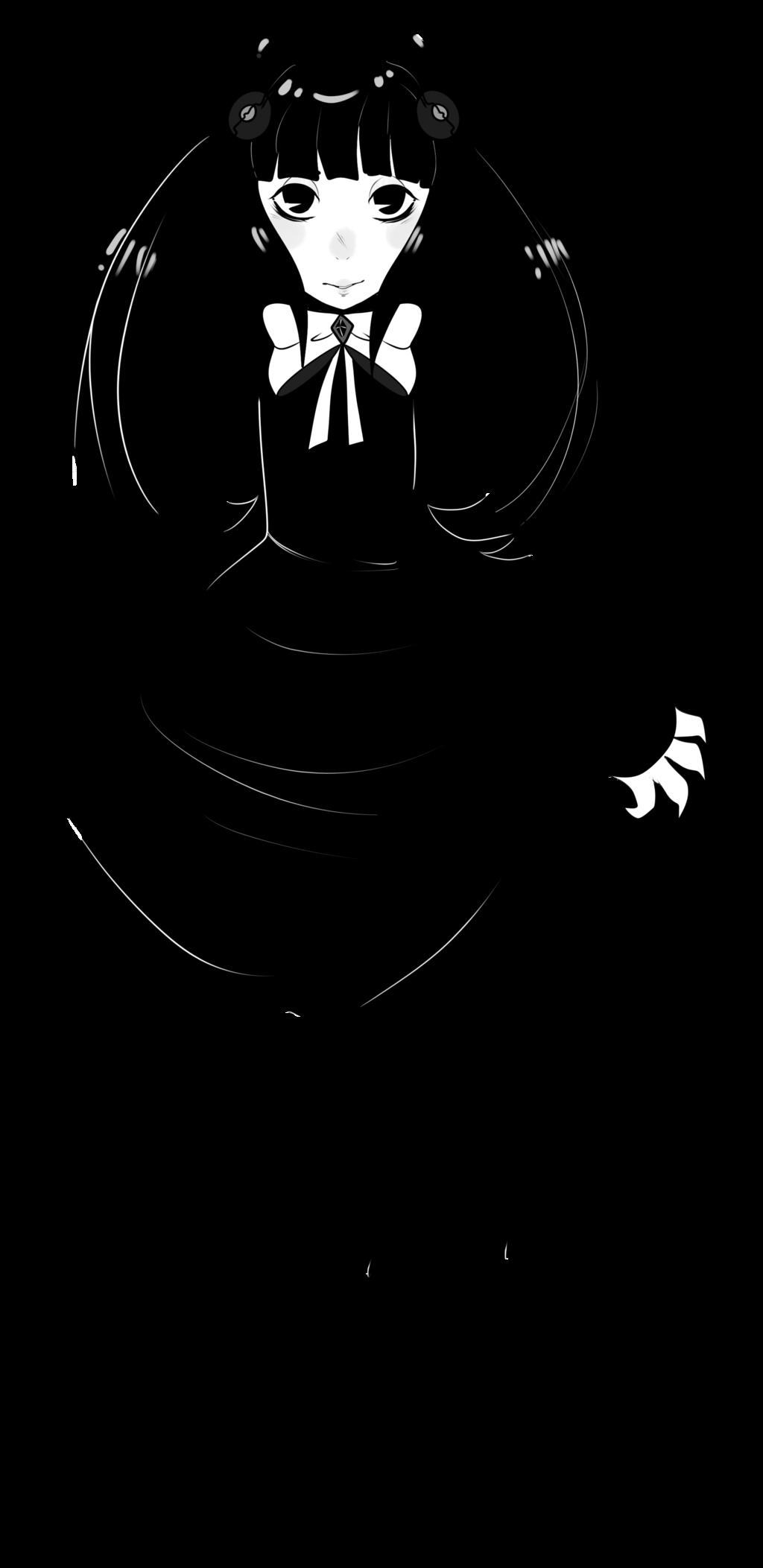 Clip art Black Illustration Silhouette Female.