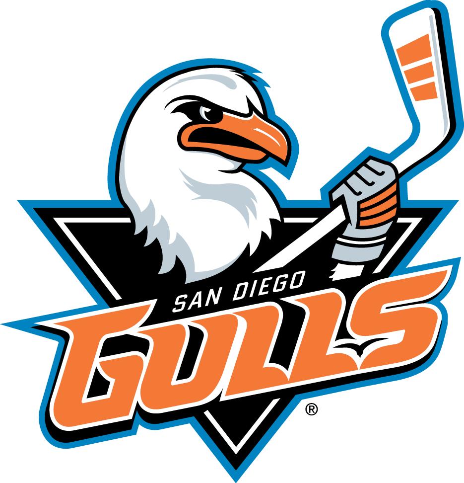 San Diego Gulls Primary Logo.