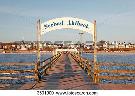 Stock Photography of Ahlbeck Pier, Usedom, Germany 3591300.
