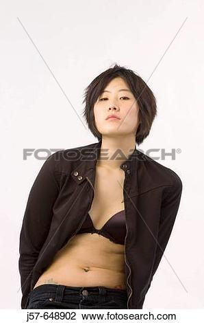 Stock Photo of Eanjee Ahn korean college student in washington.