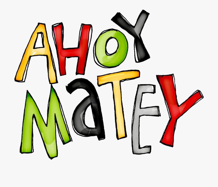 Ahoy Matey Clip Art Cliparts.
