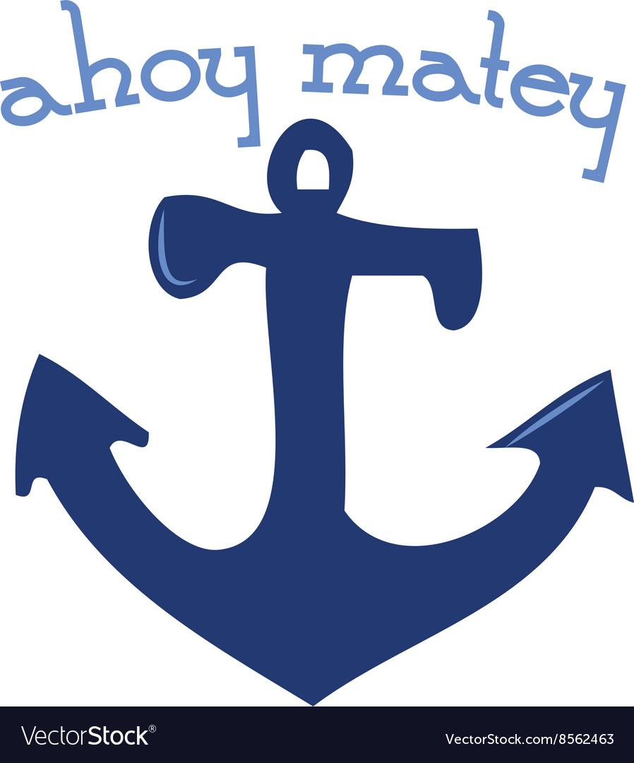 Ahoy Matey.