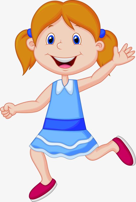 Girl Happy Clipart.