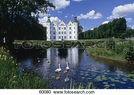 Stock Photography of Facade of castle, Hamburg, Germany, Europe.