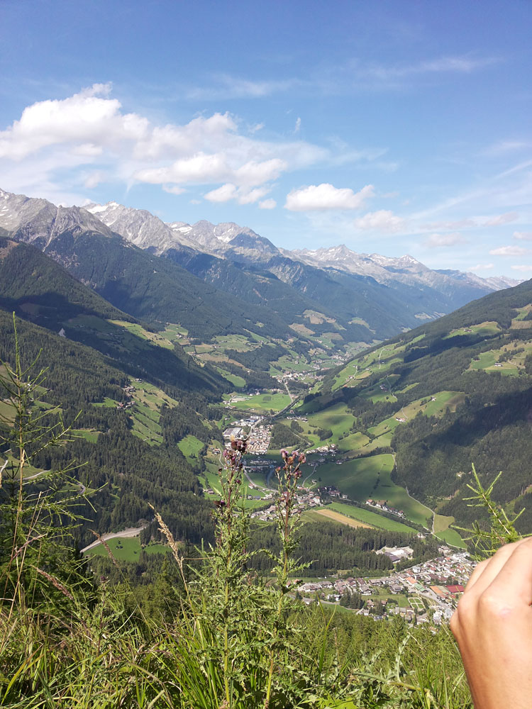 Holiday Region Ahrntal Valley.