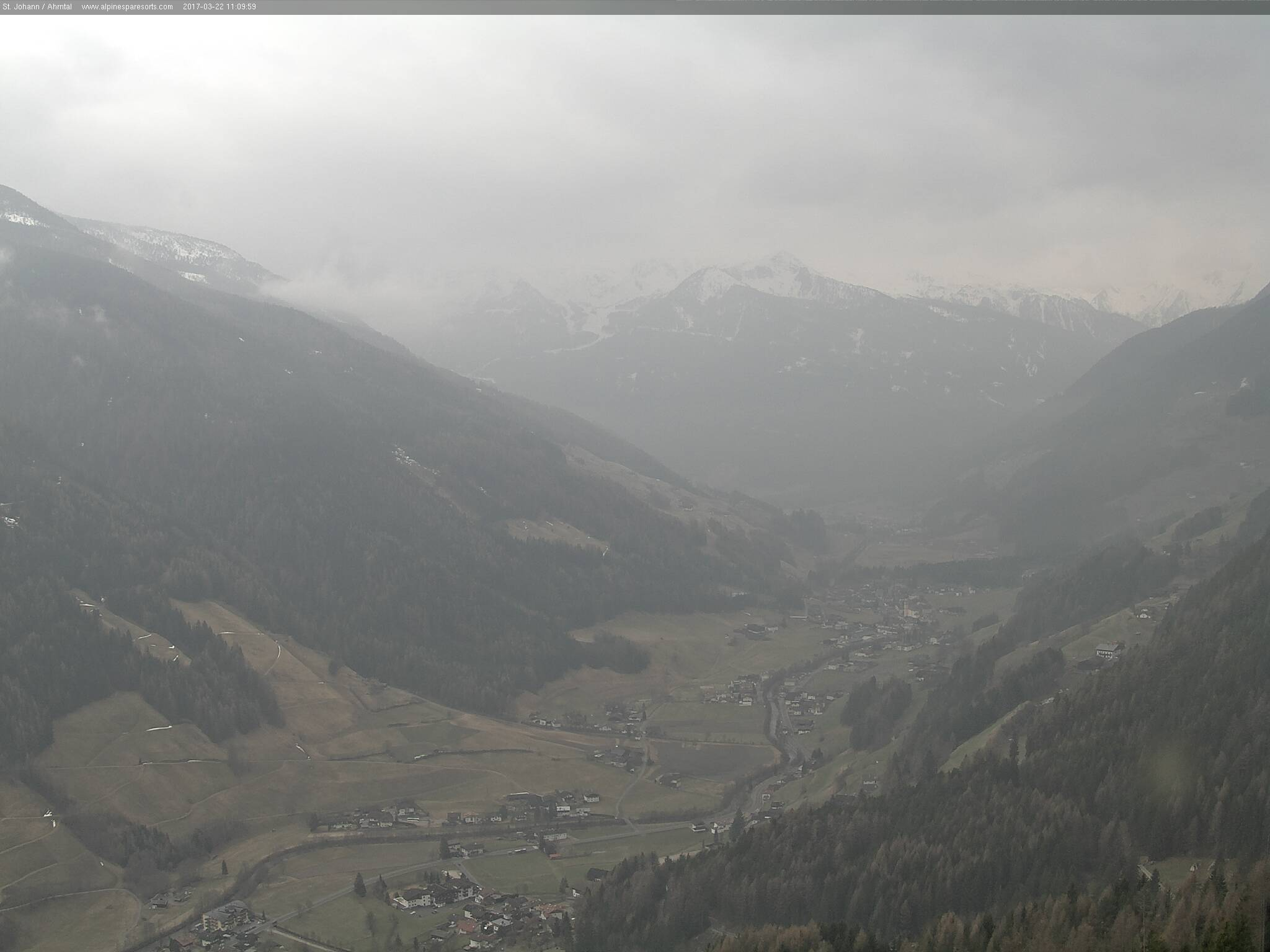 Webcams in the Ahrntal Valley.