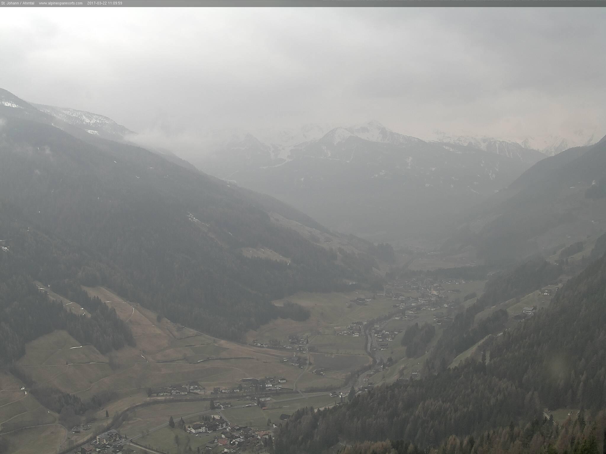 Webcams in the Ahrntal Valley.