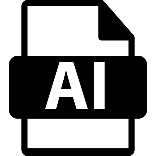 Ai file format Icons.