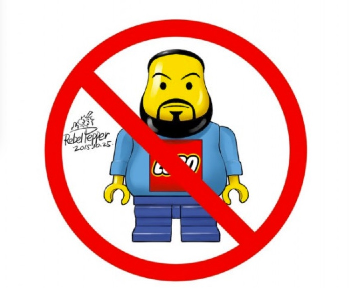 """Ai Weiwei Versus Lego Toys and Artistic """"Censorship""""."""