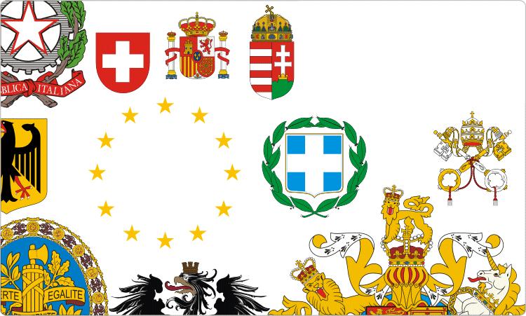 Europe Civic Heraldry.