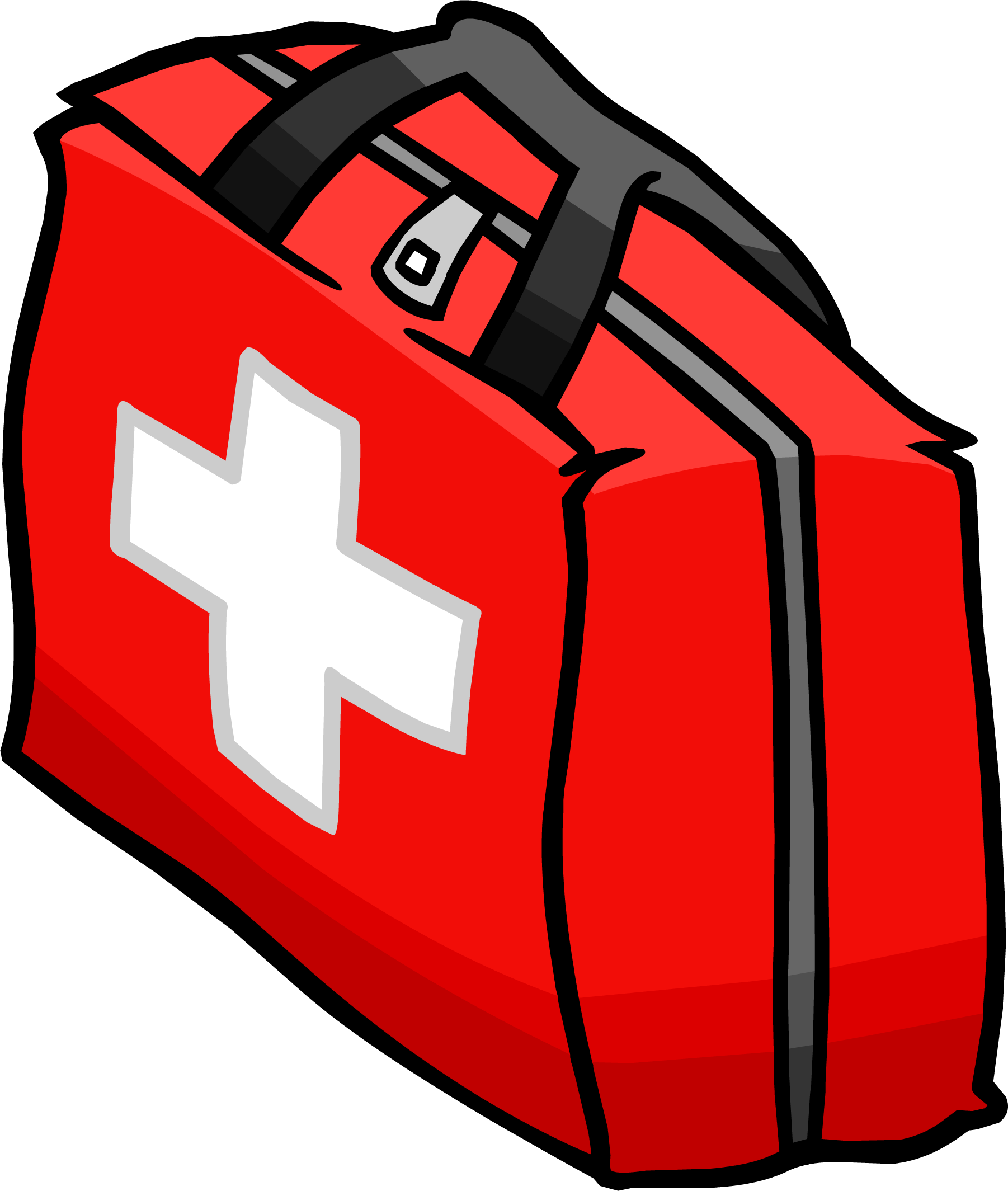 First aid kit clip art.