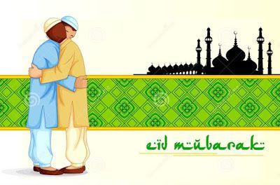 Eid Mubarak Clip Art.